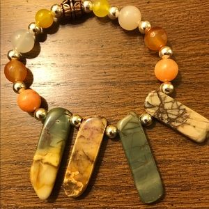 Mindfulness Handmade Gemstone Bracelet